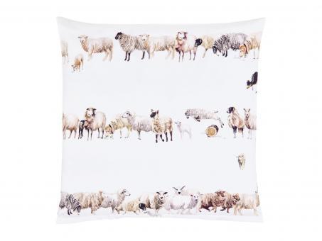 Christian Fischbacher Satin-Bettwäsche COUNTING SHEEP