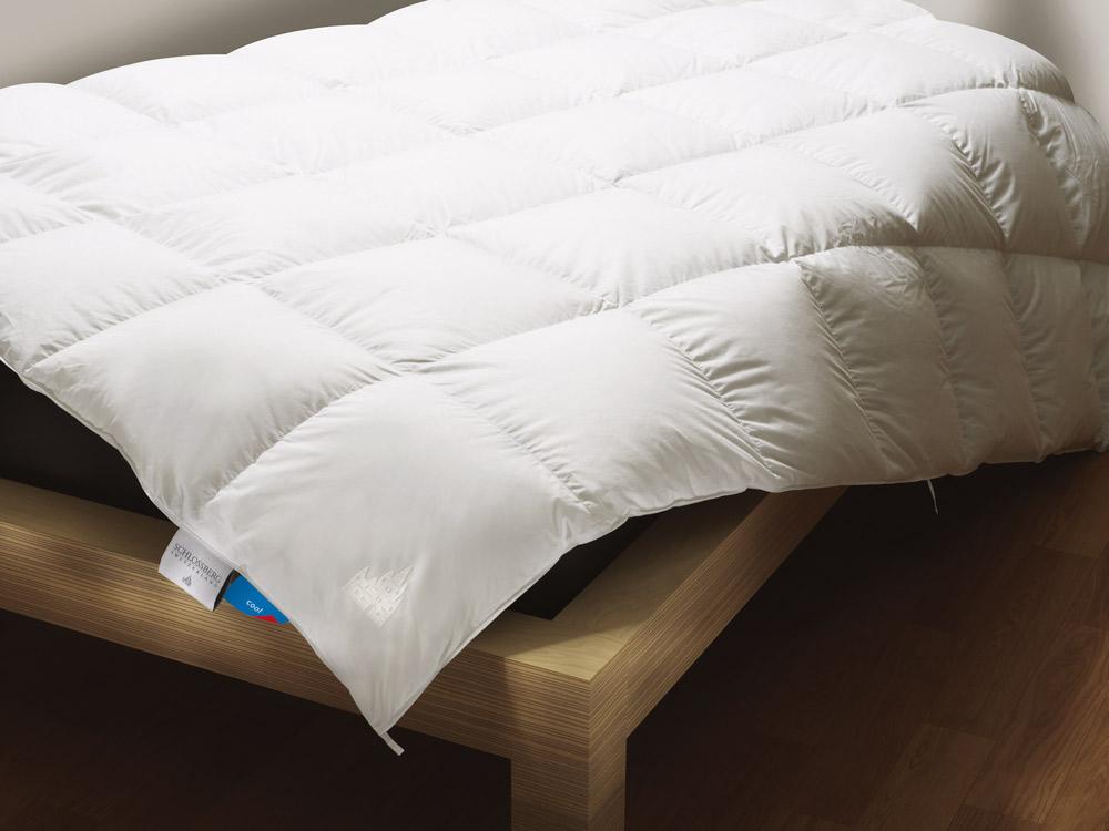 bettwaren borghoff schlossberg daunendecke lord outlast. Black Bedroom Furniture Sets. Home Design Ideas