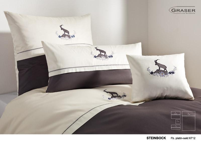 bettwaren borghoff graser bettw sche steinbock. Black Bedroom Furniture Sets. Home Design Ideas